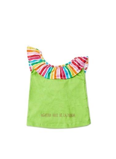 Agatha Ruiz de la Prada Bluz Yeşil